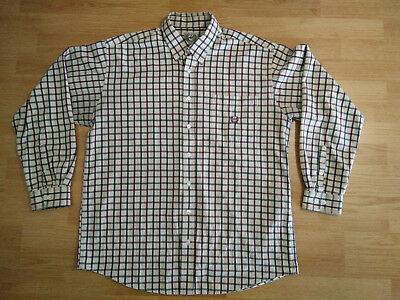 Stussy Checker Western Long Sleeve Button Front Checkerboard Checkered Sz L-XXL
