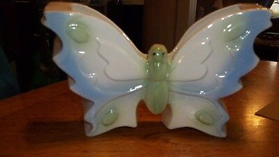 Vintage butterfly wall pocket