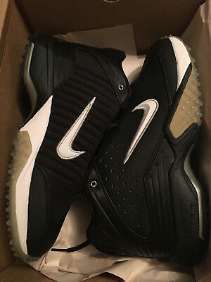 online store ada6d ec952 Nike Air Zoom Astro Grabber 34 Football Shoes 306084 Blackwhite-Met