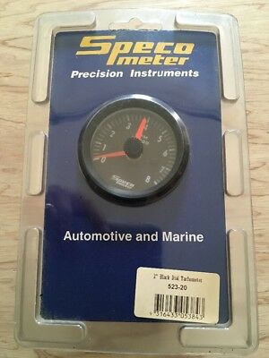 SPECO Tachometer For Automotive And Marine