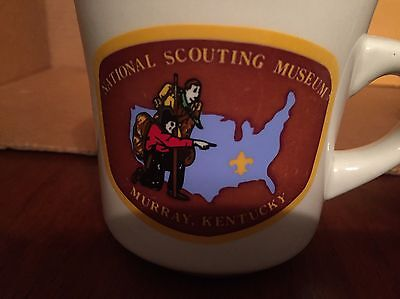National Scouting Museum COFFEE MUG Boy Scouts NEW - Diner Style - Heavy