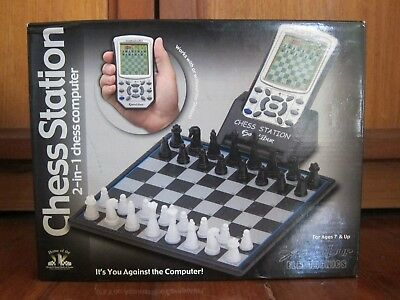 Excalibur Chess Station 2-in-1 Electronic Chess Computer
