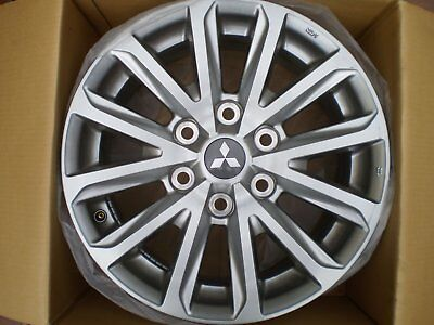 Mitsubishi genuine 17 inch alloy wheel rims to suit Triton (5 rims in lot)