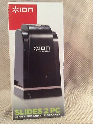 *Ion Slides 2 Pc 35mm Slide & Film Scanner
