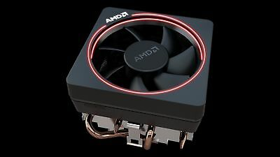 AMD Wraith Max cooler, with RGB LED, for socket AM4/AM3/FM2