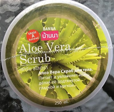 scrub corpo all'aloe vera  250 ml