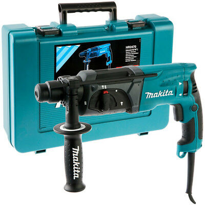 Makita HR2470 780W 24mm Rotary Hammer Drill with Carry Case Brand New