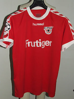 SOCCER JERSEY TRIKOT MAILLOT CAMISETA SPORT THUN PATCH CHAMPIONS size M