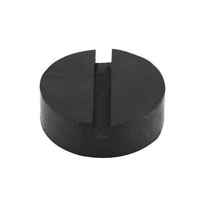 Car Slotted Frame Rail Floor Black Jack Pad Jacking Sturdy Rubber Pad Adapter HY