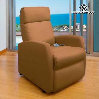 Compact 6019 Massage Relax Chair Remote Control Heated Armchair Recliner Comfort