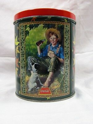Coca-Cola Collectible Tin Container GIFT HOLIDAY EASTER COLLECTOR