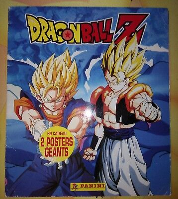 Album Panini COMPLET Dragon Ball Z 1997 cards cartes DBZ full stickers