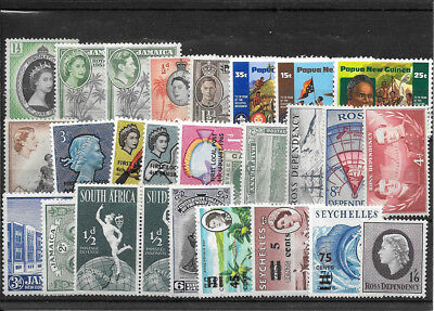 British Colonial R371 Coll Of Mm And Umm Stamps