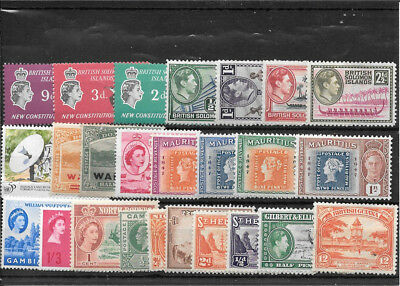 British Colonial R372 Coll Of Mm And Umm Stamps
