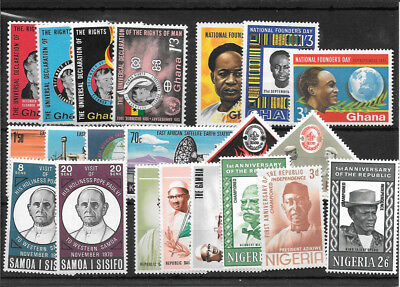 Africa R406  Coll Of Mm And Umm Stamps