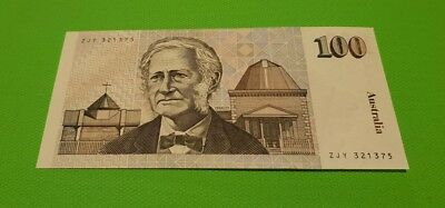 Uncirculated Australian 1992 $100 Banknote
