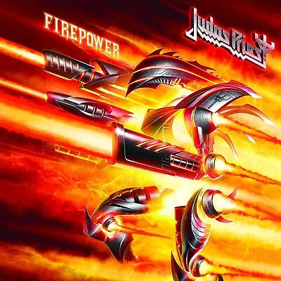 PRE-ORDER Judas Priest - FIREPOWER (CD RELEASE: 09 Mar 2018)