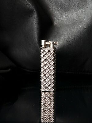 Vintage 1950s Sterling Silver Dunhill Sylph Gas Lighter