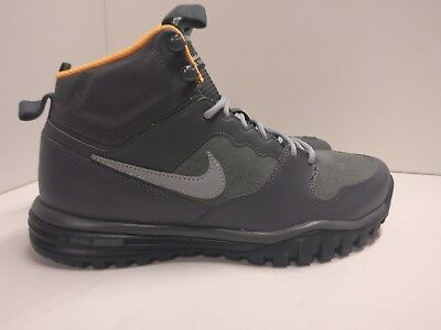 finest selection cbe16 d6f34 Nike Dual Fusion Hills Mid Leather UK 8 Dark Grey Black 695784-001 Trail  Boot