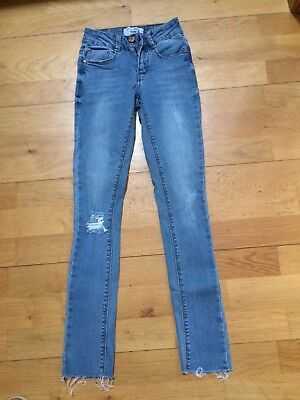 Girls New Look Skinny Jeans Age 10