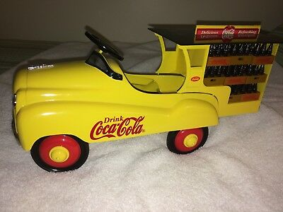Coca-Cola Limited Edition Pedal Delivery Truck
