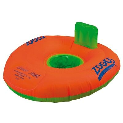 Zoggs Swimming Trainer Seat Ring Inflatable Water Aid - 3-12 months