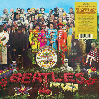 Beatles Sgt Pepper's Lonely Hearts Club Band (2017 Stereo) Vinyl LP NEW sealed