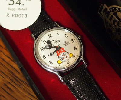1990's Mickey Mouse Character Watch by Lorus w/ Box 1933 Commemorative Re-Issue