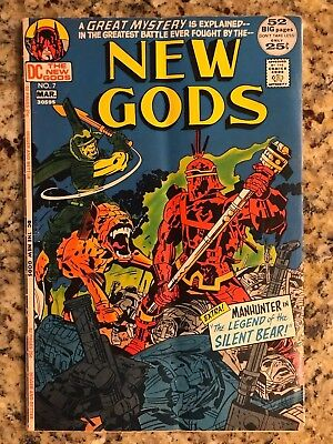 New Gods #7 Vg 4.0 / 1St Steppenwolf / Origin Of Mister Miracle Orion / Dc Comic