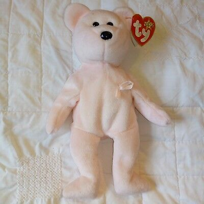 Ty Beanie Babies Pink 'Cure' (Retired)