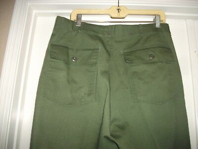 "Men's Army Green Pants 36X33 ""great For Boy Scouting"""