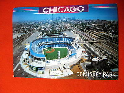 Super Comiskey Park Chicago White Sox Stadium Il 1995 Postcard Onthecornerstone Fun Painted Chair Ideas Images Onthecornerstoneorg