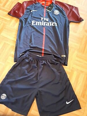 Paris Saint Germain PSG Home Jersey Trikot + Hose 17/18