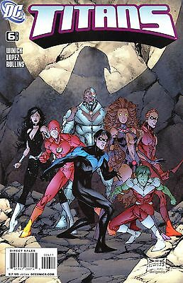 Titans Comic 6 DC 2008 Winick Lopez Rollins  Together Forever
