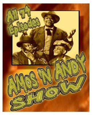 Amos and Andy All 74 Complete DVD Set n'