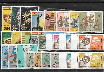 Africa R027 Coll Of Mm And Umm Sets Of Stamps