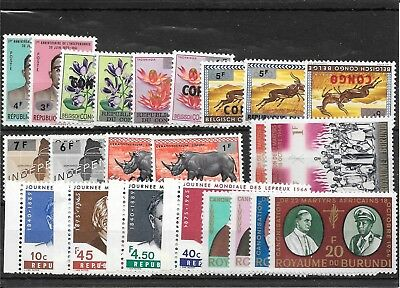Africa R028 Coll Of Mostly Umm  Sets Of Stamps