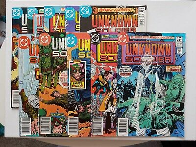 Unknown Soldier lot 257 258 259 261 262 264 265 266 267 268 Canadian Price Edtn!