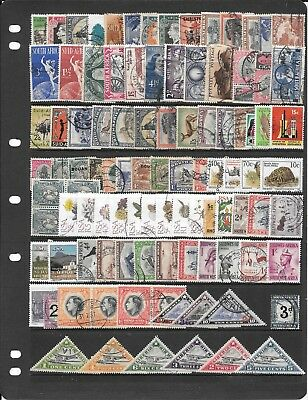 Africa R223 Great Collection Of Cancelled Stamps Some High Value