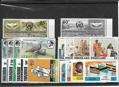 Africa R226 Coll Of Mm And Umm Sets Of Stamps