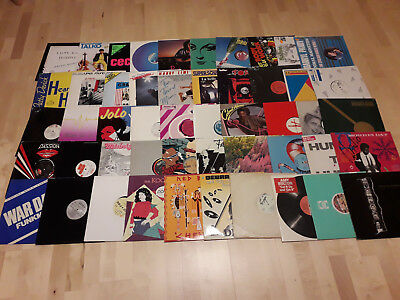 "100x 12"" ITALO DISCO 80's FUNK POP DANCE COLLECTION SAMMLUNG LOT PACKAGE DJ MAXI"