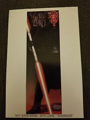 "Darth Maul mini poster promo sith lord Star Wars 4""x6"""