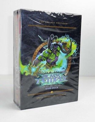 World of Warcraft Black Temple Raid Deck Special Edition Sammlerbox Neu & OVP