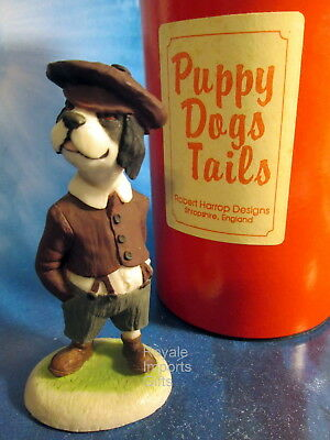 Robert Harrop Springer Spaniel Seymour Doggie People Figurine 1990-95 New + Box