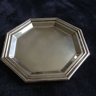 800 Silver Tray not Sterling