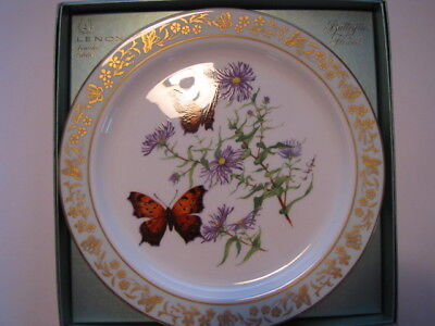 "Lenox First Limited Edition ""Butterflies And Flowers"" Collector Plate-1982"
