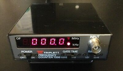 TRIPLETT 7200 Digital Frequency Counter