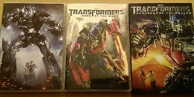 Transformers 3 DVD Set Transformers/Dark of the Moon/Revenge of the Fallen