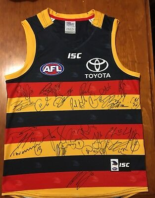 Crows 2017 Signed Guernsey
