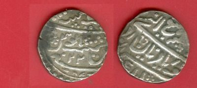 India Mughal Empire Old Silver Rupee Lot#8963